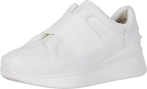UGG Australia Libu, Zapatillas para Mujer, White, 36 EU