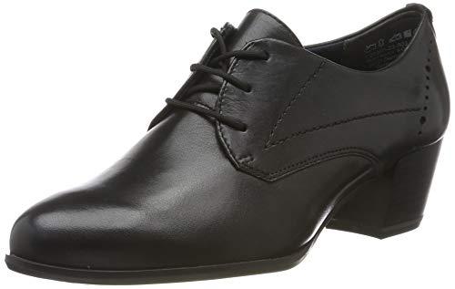 Tamaris Damen 1-1-23305-23 Derbys, Schwarz (Black Leather 3), 39 EU