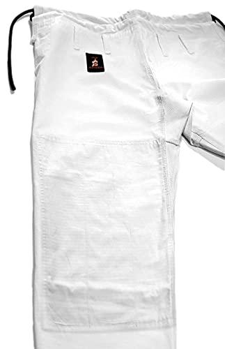 You Jiu Jitsu Gear BJJ GI Uniform Pants (A3 5'8' - 6'1' Height, White)