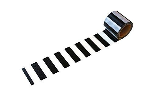 小屋女子DIYカフェ 養生テープ モノトーン YJV-18 ブラック/グレー 45mmx5m