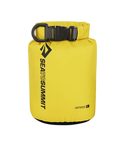 Sea to Summit Lightweight 70D Dry Sack-1 litros Saco Montañismo, Alpinismo y Trekking, Adultos Unisex, Amarillo (Yellow), Talla Única