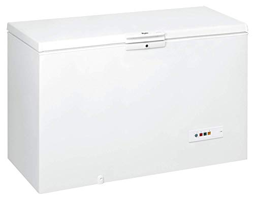 Whirlpool WHM46111 Freestanding Chest Freezer, 432 L total capacity, 141 cm wide, White