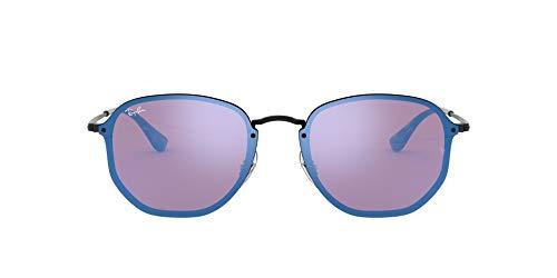 Ray-Ban 3579n Gafas de Sol, Demiglos Black, 58 Unisex-Adulto