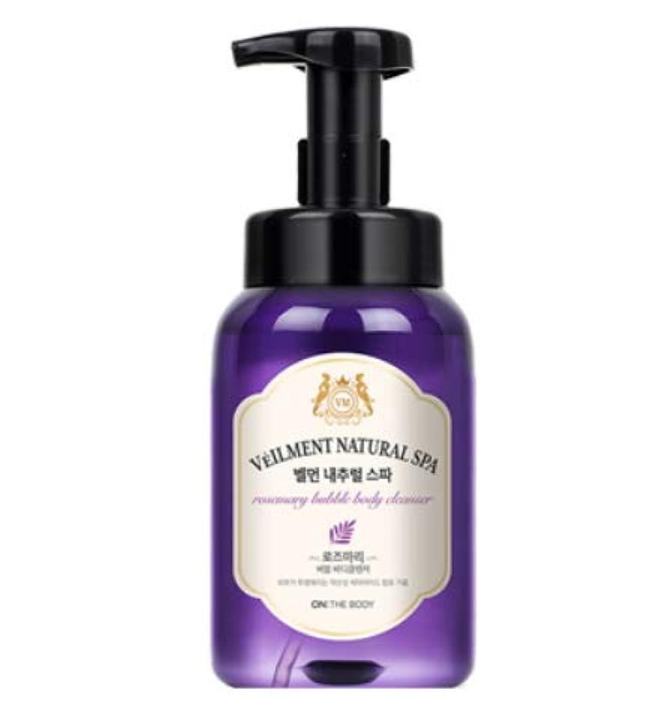 お嬢香り抑圧者[LG HnB] On the Body Belman Natural Spa Bubble Body Cleanser/オンザボディベルモンナチュラルスパバブルボディクレンザー 500ml x1個(海外直送品)