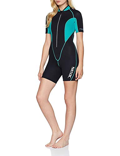 Seac Traje SEALIGHT - Traje de neopreno para mujer (2,5 mm) multicolor, talla M