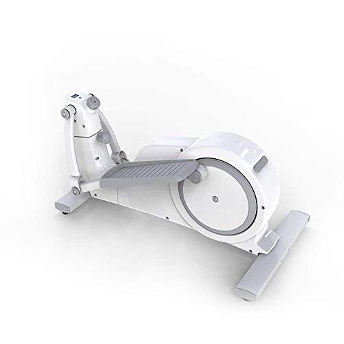 Cross Trainer Máquina elíptica Mini Stepper Fitness Exercise Trainer Quiet Stand Up Trainers para la Oficina en casa Magnetic Cardio Workout 121x63x162cm