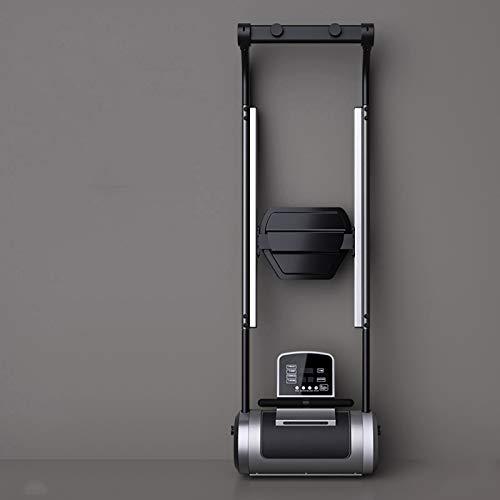 YZT QUEEN Máquinas De Remo, Máquina De Remo De Reticencia para El Hogar, Pequeña Máquina De Remo De Reticencia Plano Plegable, Equipo De Fitness para Ejercicio Aeróbico Interior con Pantalla LCD