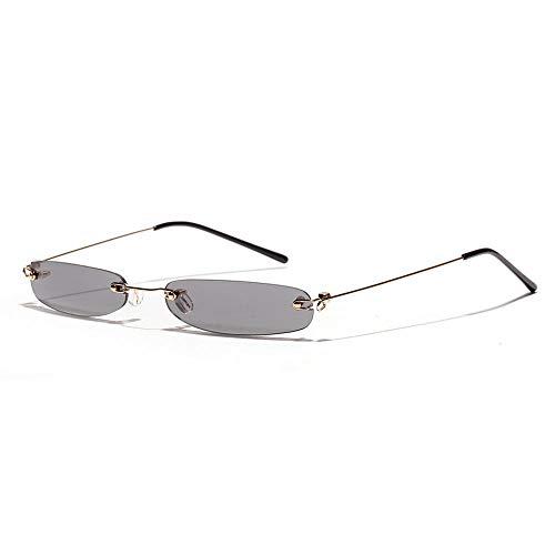 ZHAOSHUNAN Sonnenbrillen Ultra-Schmale Sonnenbrille Herren- Und Damenbrille Randlose Brille Ultraleichtes Zubehör, A