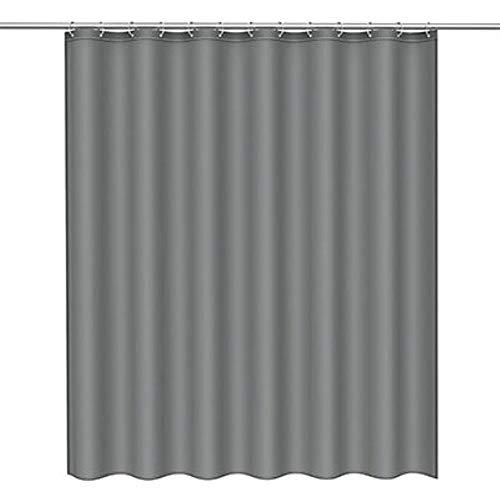 CDFD Modern douchegordijn Waterdicht 3d-gordijn Duurzaam badkamergordijn met haken voor Home Hotel Bath, zwart