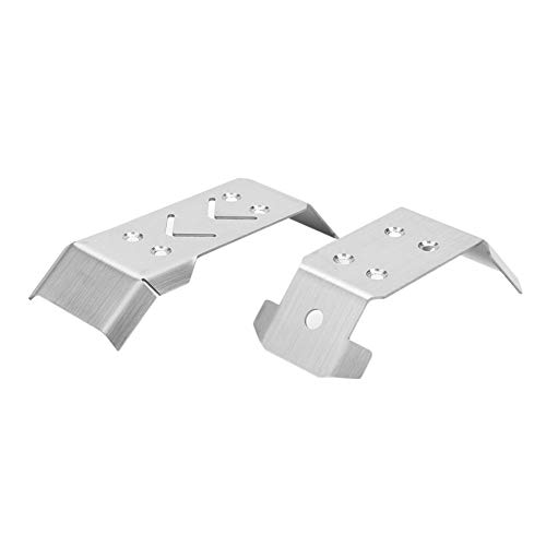 HSJWOSA Independently Absorber Cover Absorption Guards Educational Learning Study Stainless Steel Shock Toy Gifts for RC Car Spare Parts Performantly (Color : 1 Set)