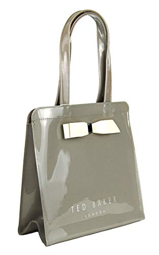 Ted Baker Arycon small Bow Tote Grey 9 by 9