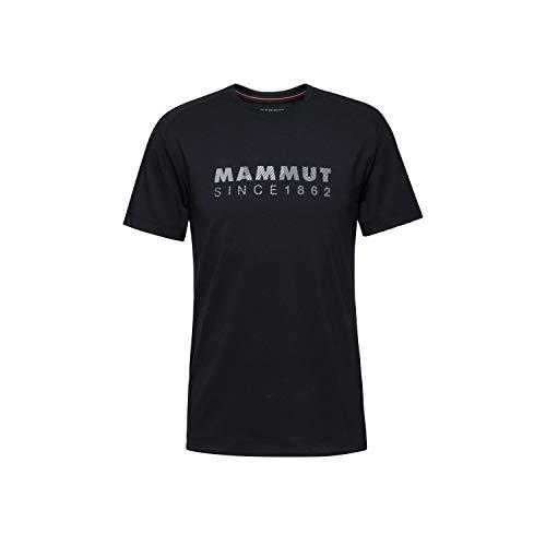Mammut Herren Trovat T-Shirt, Schwarz (Black PRT1), XL