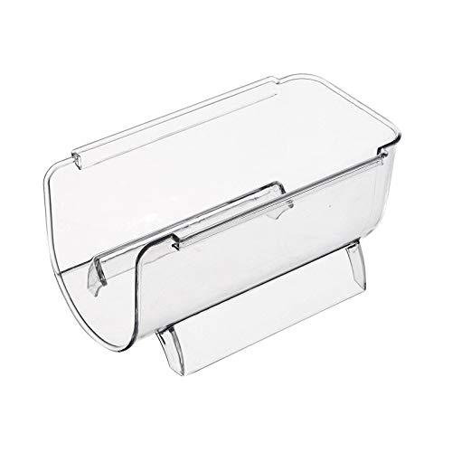 Organizadores de nevera, frigorífico de despensa, estante de almacenamiento apilable, estante de almacenamiento para encimera (2 unidades)