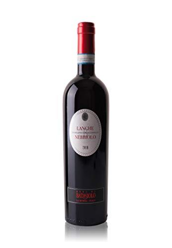 Batasiolo, LANGHE DOC NEBBIOLO 2018, 750 ml, Vino Rosso Fermo Secco, Delicato e Pungente