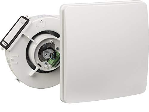 Stiebel Eltron 201451 - Dispositivo di ventilazione decentralizzata LA 60 VE-A per montaggio a parete per la ventilazione di ambienti interni senza finestra esterna, colore: Bianco