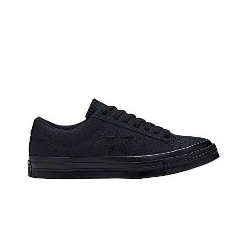 Converse Chuck Taylor All Star Unisex Canvas Schuhe mit 7kmh Aufkleber Schwarz 9597 41