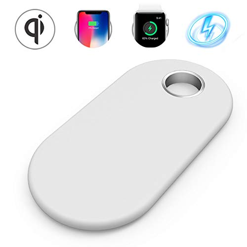 Wireless Charging Pad 2 in 1,Charger Dock Compatible to Watch, 7.5W Compatible iPhone X XS MAX XR 8 8+ 10W Compatible Samsung Galaxy 5W for Qi-Enabled Device
