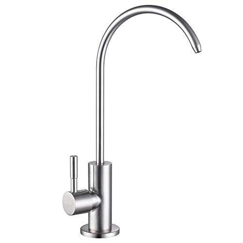 Drinking Water Filter Faucet Stainless Steel Brushed Nickel Kitchen Bar Sink,Lead-Free Modern Water Filter Faucet
