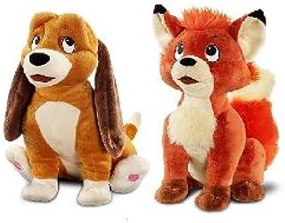Disney Store Premium Plush Fox and the Hound Tod and Copper Plush