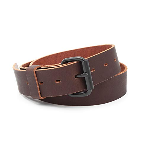 The Classic Leather Everyday Belt | Made in USA |...