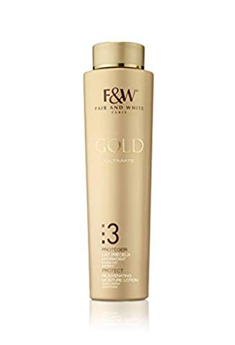 Fair & White 3 Gold Rejuvenating Moisture Lotion 500ml/17.6fl.oz by Fair & White Paris by Fair & White Paris