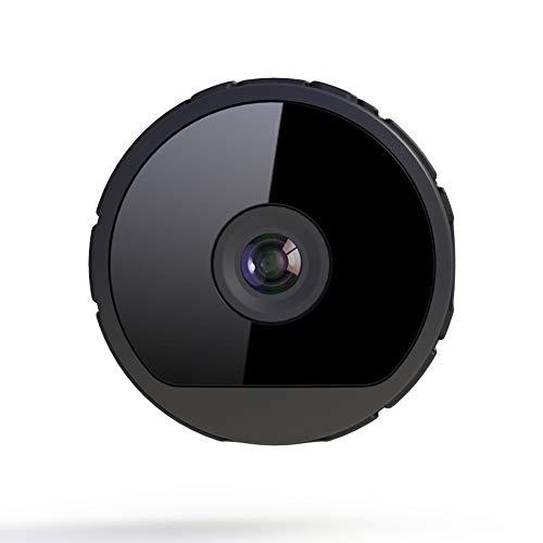 QUWN-modus bewakingscamera, draadloos, kleine netwerken, sport, HD, WiFi, intelligente nachtzichtcamera, bewegingsdetectie, 1080P, zwart
