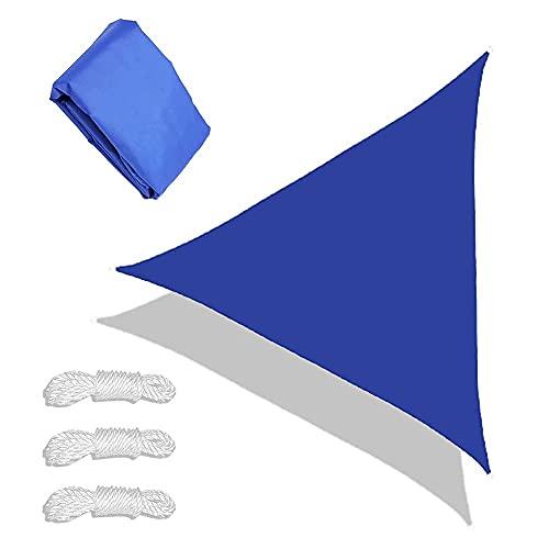 Hand Drums Sun Shade Sail 95% UV Block Protection Shade Sails Transpirable Triángulo Tabla Impermeable Durable Oxford Paño Toldo para el jardín al Aire Libre Patio Patio Patio Trasero