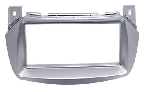 Covers Automotive Dashboard Paraurti, 1 DIN autoradio DVD del precipitare Fit Kit Installare Fascia Face Plate Pannello Surround Adatta cornice for SUZUKI Alto NISSAN Pixo 2008+ Easy To Rimontare 10.2