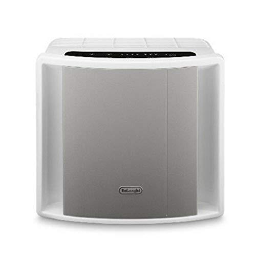 De'Longhi AC 150 AC150-Purificador (Panel de Control táctil, Cinco Estados de filtración, ionizador, Tres velocidades de Ventilador, para Habitaciones de hasta 40 m 2), Plástico, Gris, Blanco
