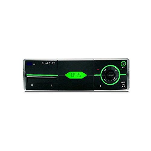 JenNiFer Polarlander Car Audio Stereo Bluetooth Stereo Radio 12V Fm Autoradio Mp3-Player - Schwarz