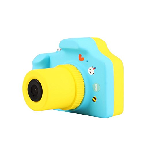 RUNGAO Mini Cámara Digital para Niños 5.0mp 1.5 Pulgadas Pantalla LED de Color Regalo de Chicos