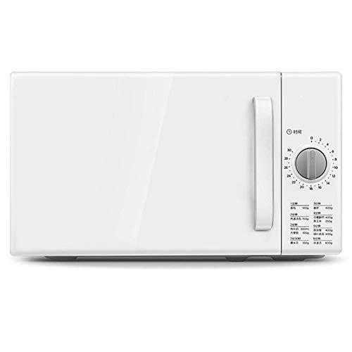 Compact Power-Einstellungen, Removable Plattenspieler, konform Kleine Aufsatz- Mikrowelle, Weiss