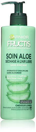 Garnier Fructis Lotion Tonique Soin Aloe Hydra Bomb Séchage à l'Air Libre Cheveux Longs 400ml