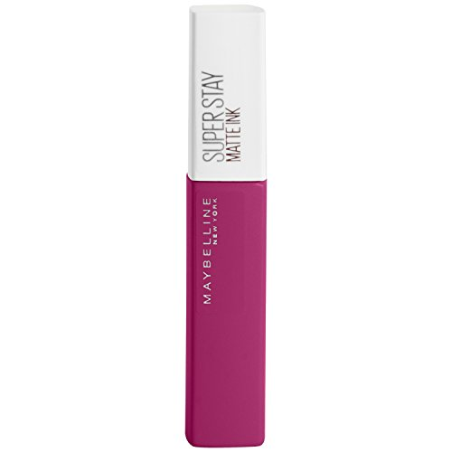 Maybelline New York Lippenstift, Super Stay Matte Ink, Flüssig, matt und langanhaltend, Nr. 120...
