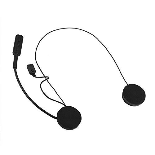 Tihebeyan Motorradhelm Bluetooth Headset Gegensprechanlage Headset Bluetooth 4.0 Dual Stereo Lautsprecher Freisprechanlagen für Motorrad und Skilautsprecher Musik