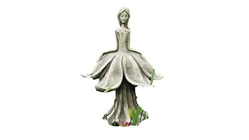 Blütentänzer Narzisse, Blumenkind, Figur aus Steinguss