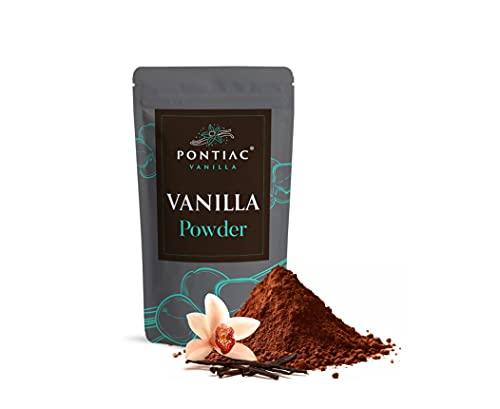 Poudre de vanille bourbon premium-100% naturelle - 20gr NET-gousses de vanille bourbon de Madagascar pures moulues - non sucrée - arôme intense-Producteur direct-