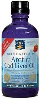 Arctic Cod Liver Oil/Strawberry 8oz