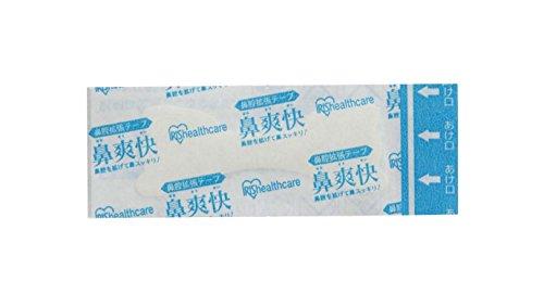 アイリスオーヤマ鼻腔拡張テープいびき防止グッズ透明4枚入りBKT-4T
