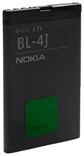 Nokia BT-BAT-BL4J Batteria 1200Mah 3.7V 4.4Wh Lumia 620, Nero