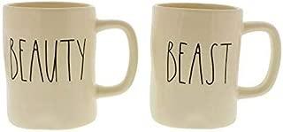 Rae Dunn Artisan Collection by Magenta Beauty and Beast Mug Set