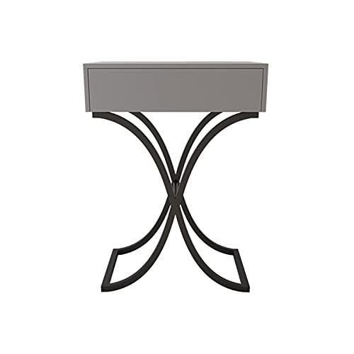C-J-X TABLE Mesas De Vestidor del Dormitorio, Almacenamiento Individual con Mesas De Cajón Tablas De Estar Foto De Estudio Tabla De Entrada De Mesa 60 Cm(Size:60 * 40 * 90CM,Color:#1)