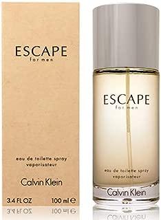 ĆK Escape men Eau De Toilette Spray 3.4 OZ. Oz/ 100 ml