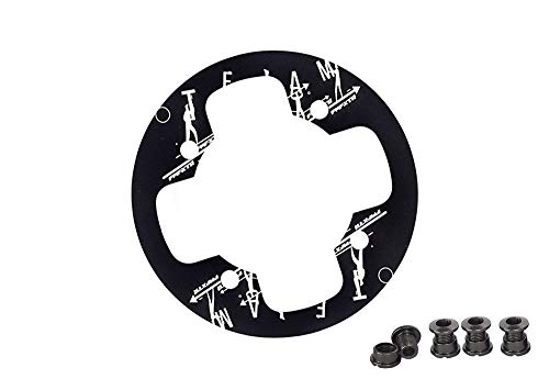 UPANBIKE Kettenblattschutz für Mountainbikes, 104 BCD, Aluminiumlegierung, Fahrrad Kettenschutz für 36~38T, Kettenblatt-Kettenrad