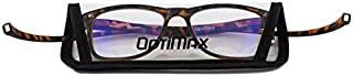 VisionsIndia Optimax Anti Glare Blue Cut Magnetic Reading Glasses with Neck Band For Men Women (Brown +1.75)