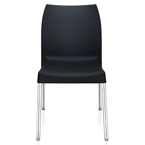Nilkamal Novella Series 07 Chair (Black)