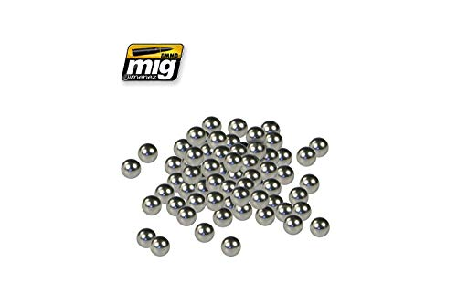 AMMO MIG-8003 Mezcladores de pintura de acero inoxidable, multicolor