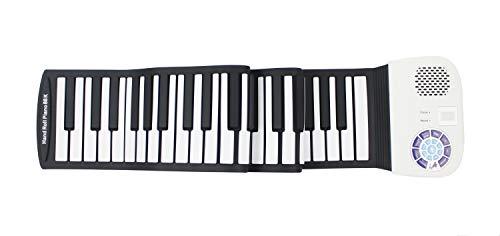 iLearnMusic Roll Up Piano, Premium Grade Silicone, Built-in Speakers - Educational Piano (88 Keys - (F88))