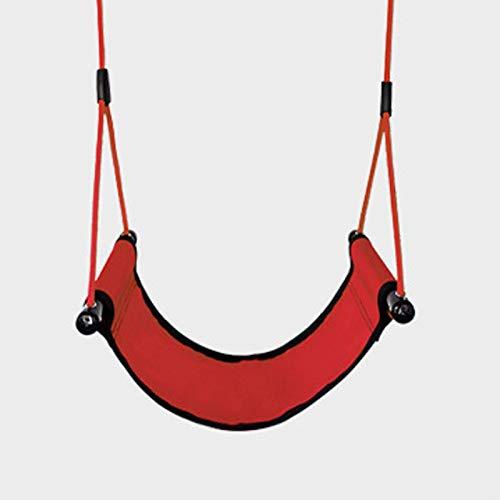 FOGUO Asiento de Columpio con Cinturón Flexible para Niños para Niños y Adultos, Sling Wrap Around Swing Seat para Juegos de Columpios,Carga Máxima 300 Kg Columpio para niños,Red