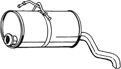 Bosal 190129 Bosal 190-129 Silencieux arrière